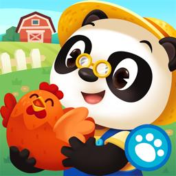 Dr. Panda Farm app icon