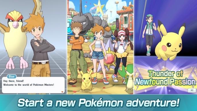 pokemon games android pokemon masters