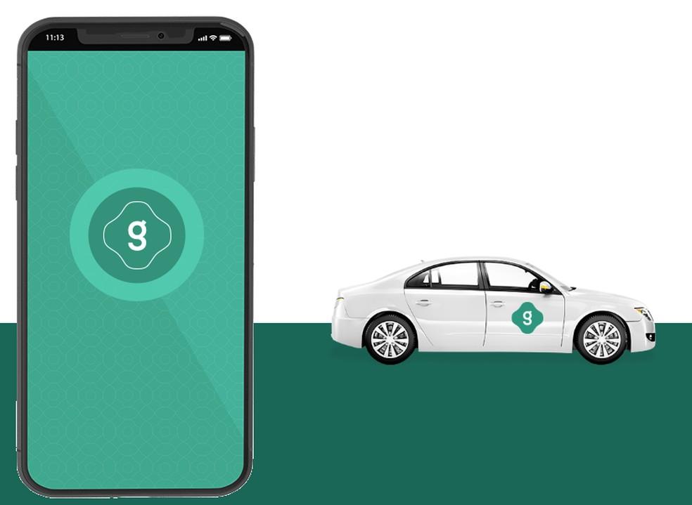 Uber-type transport app offers cheaper rides Photo: Reproduo / TechTudo
