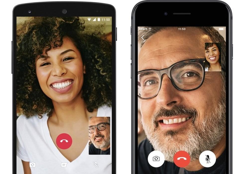 DU Recorder app records image of calls made by WhatsApp Photo: Divulgao / WhatsApp