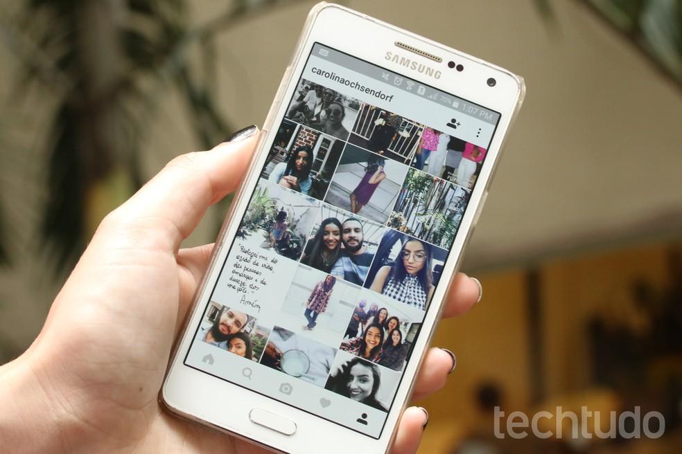 Tutorial shows how to use Planoly online service to organize Instagram feed Photo: Carolina Oliveira / TechTudo