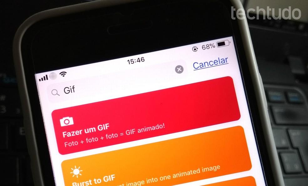 IOS Shortcuts app facilitates Instagram functions; See me in the following list Photo: Rodrigo Fernandes / TechTudo