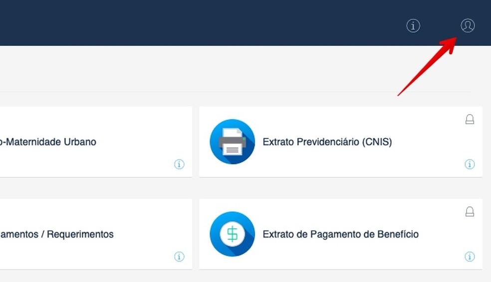 Access the INSS service portal Photo: Reproduction / Helito Beggiora
