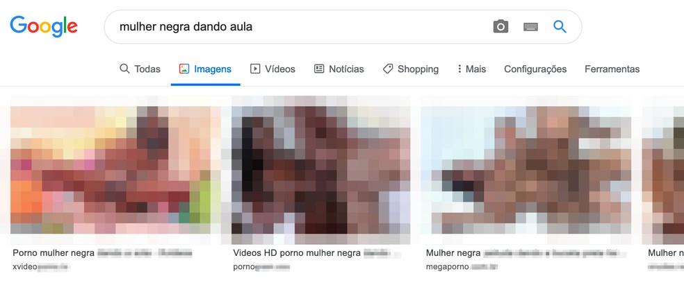 Google search returns explicit sex images Photo: Reproduo / TechTudo