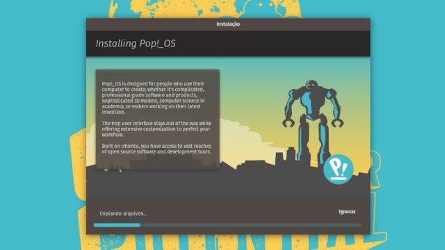 System76's Pop! _OS