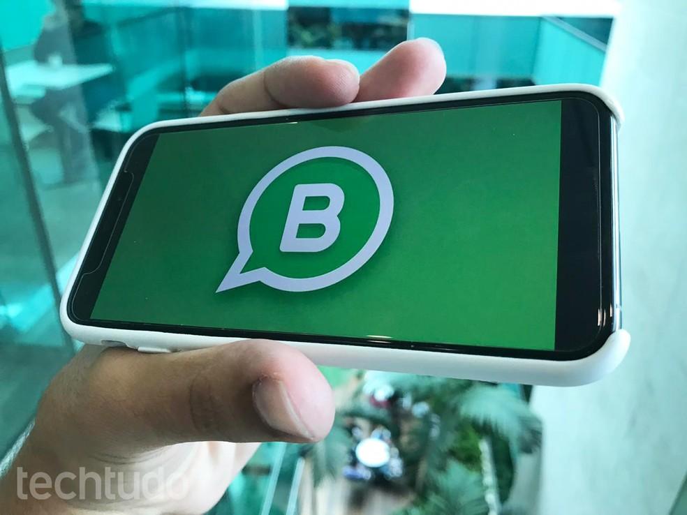 WhatsApp Business for iPhone Begins Beta Release Photo: Eduardo Manhes / TechTudo