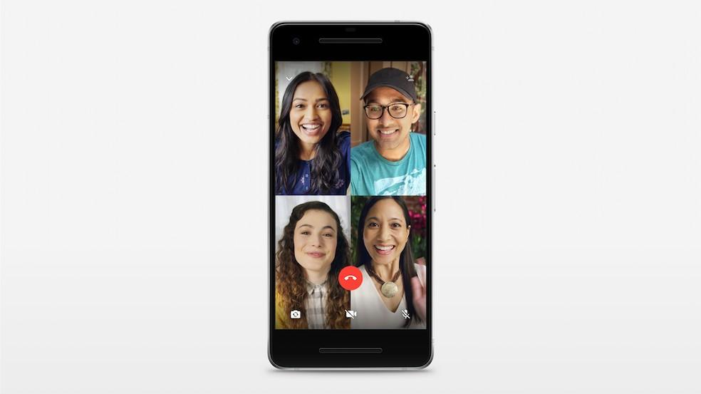 Group call Photo: Divulgao / WhatsApp