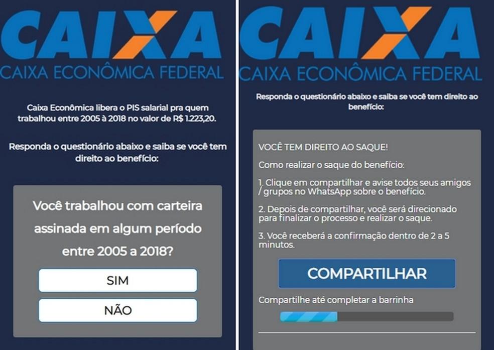 New scam using Caixa Econmica spreads across WhatsApp Photo: Divulgao / PSafe