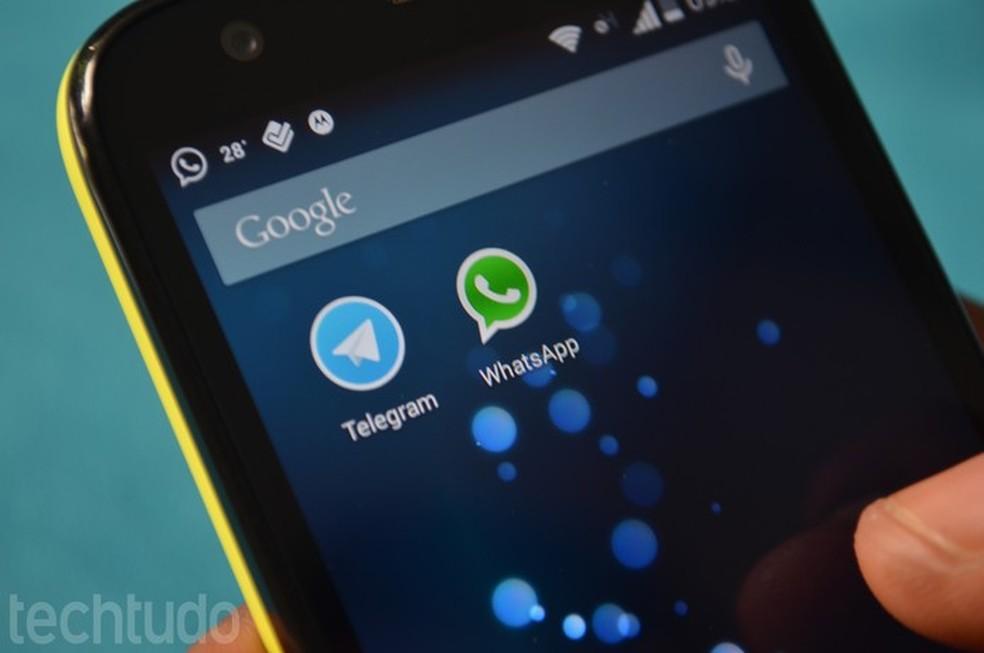 WhatsApp rival, Telegram allows you to edit messages already sent Photo: Anna Kellen Bull / TechTudo