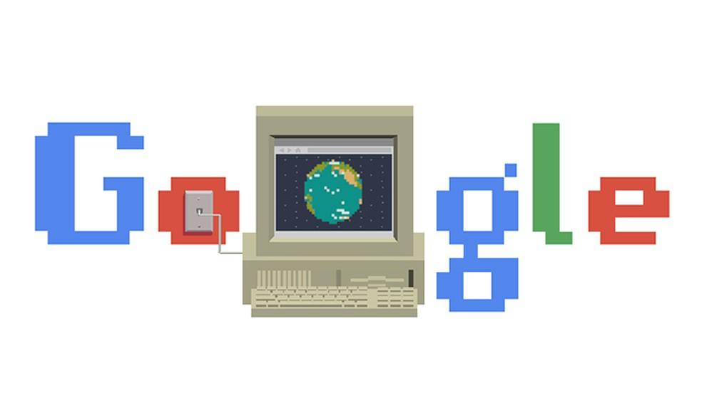 Google doodle celebrates WWW's 30th birthday Photo: Playback / Google