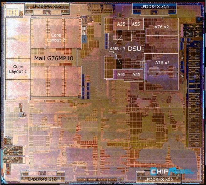 Kirin 980 - Processor - SOC - Microscope