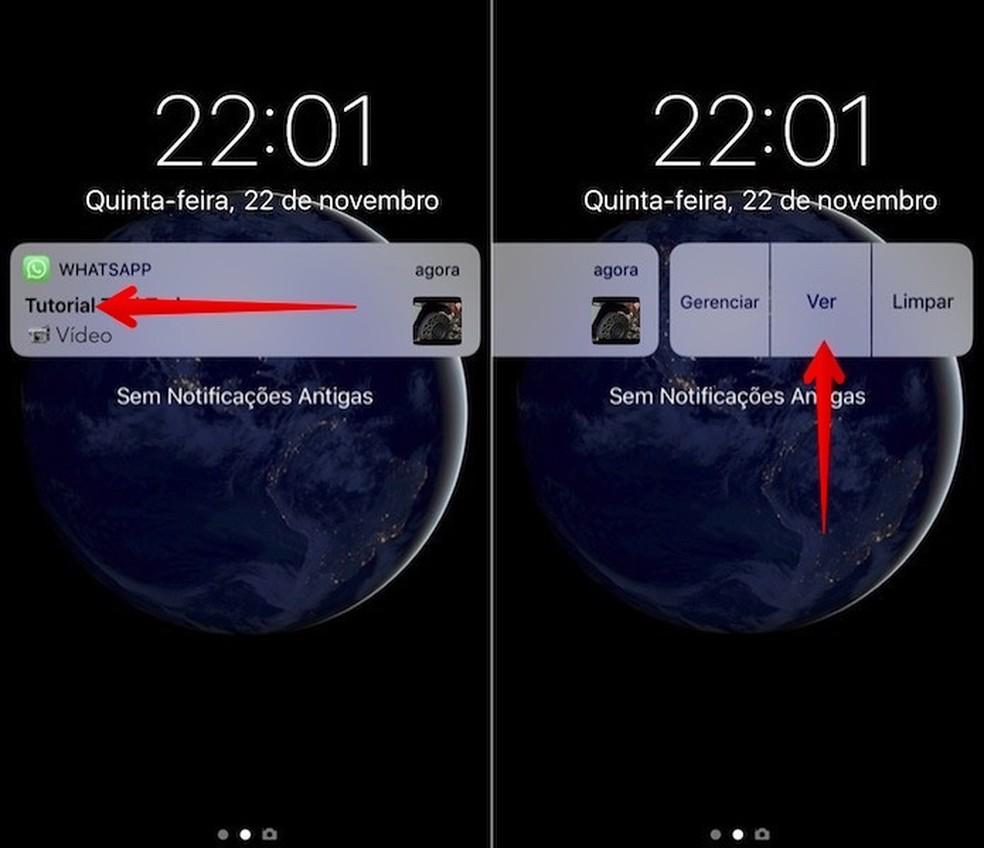 View WhatsApp videos on old iPhones Photo: Reproduo / Helito Beggiora