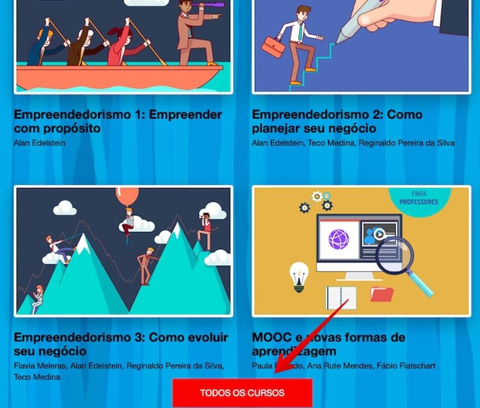 Find the desired course Photo: Reproduo / Helito Beggiora
