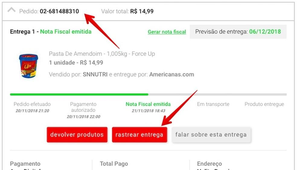 Tracking product delivery Photo: Reproduo / Helito Beggiora