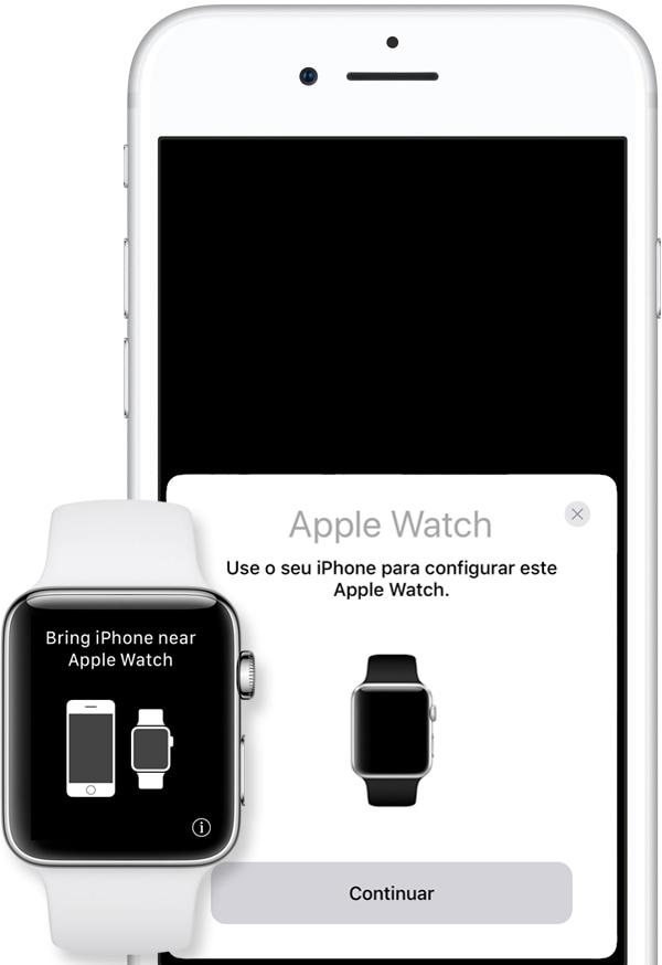 Pairing an Apple Watch