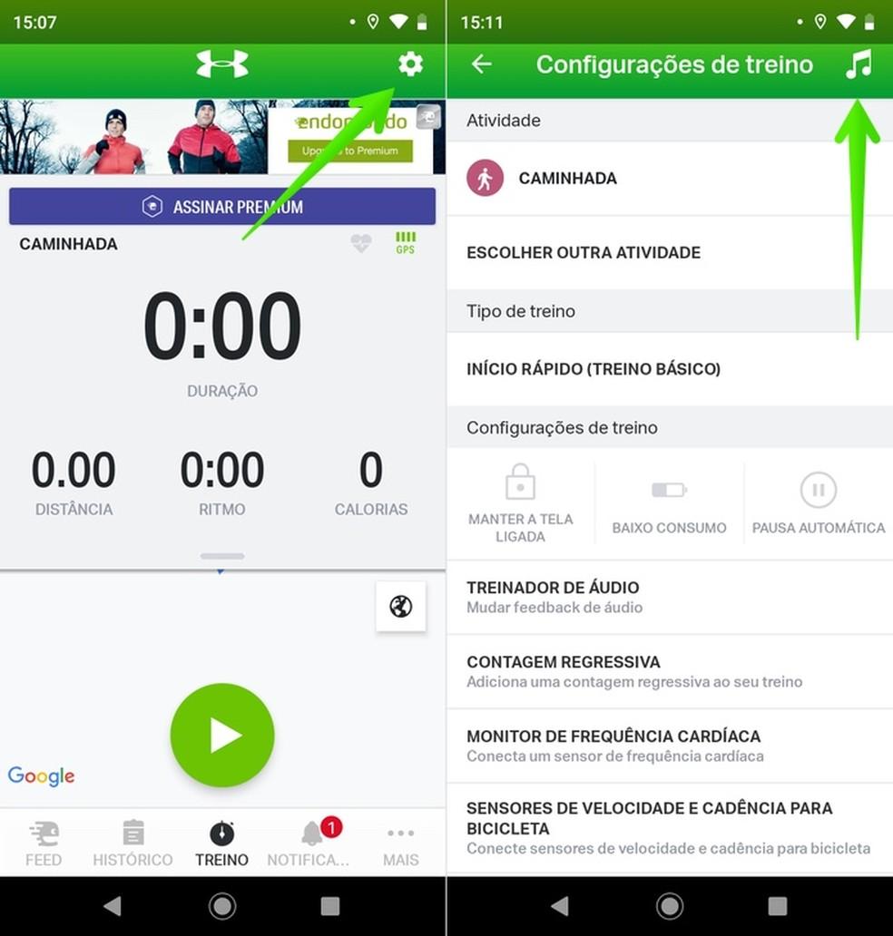 Endomondo: app that counts calories allows you to perform daily training Photo: Reproduo / Helito Beggiora