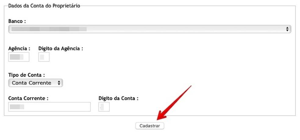 Enter the requested data Photo: Reproduo / Helito Beggiora