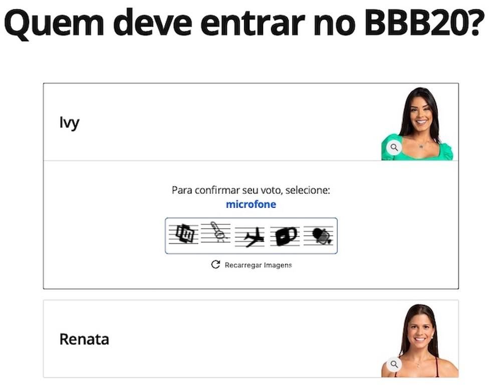 Confirm your vote Photo: Reproduo / Helito Beggiora