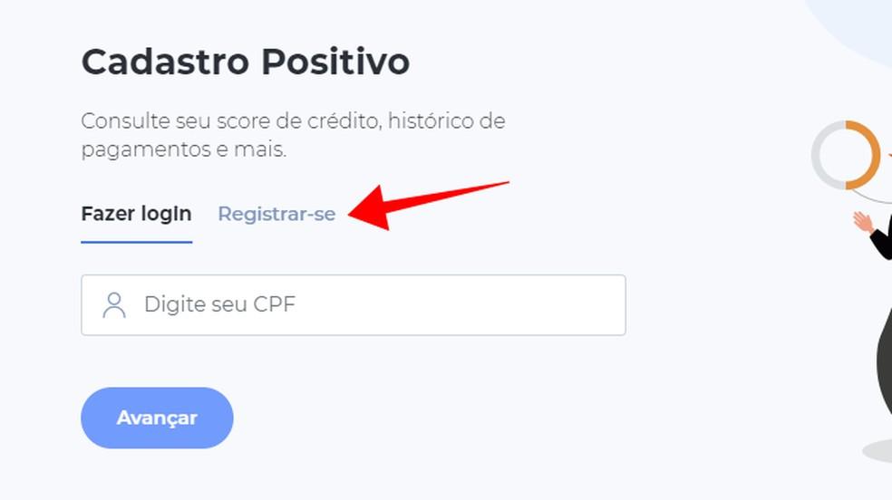 Create a free account at SPC Brasil Photo: Reproduo / Paulo Alves