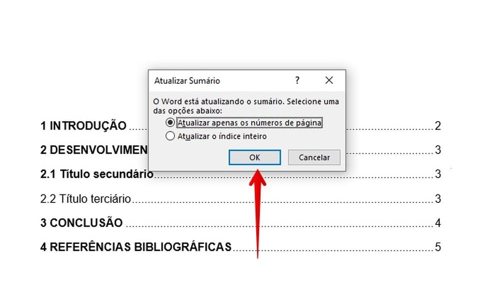 Updating summary Photo: Reproduo / Helito Beggiora