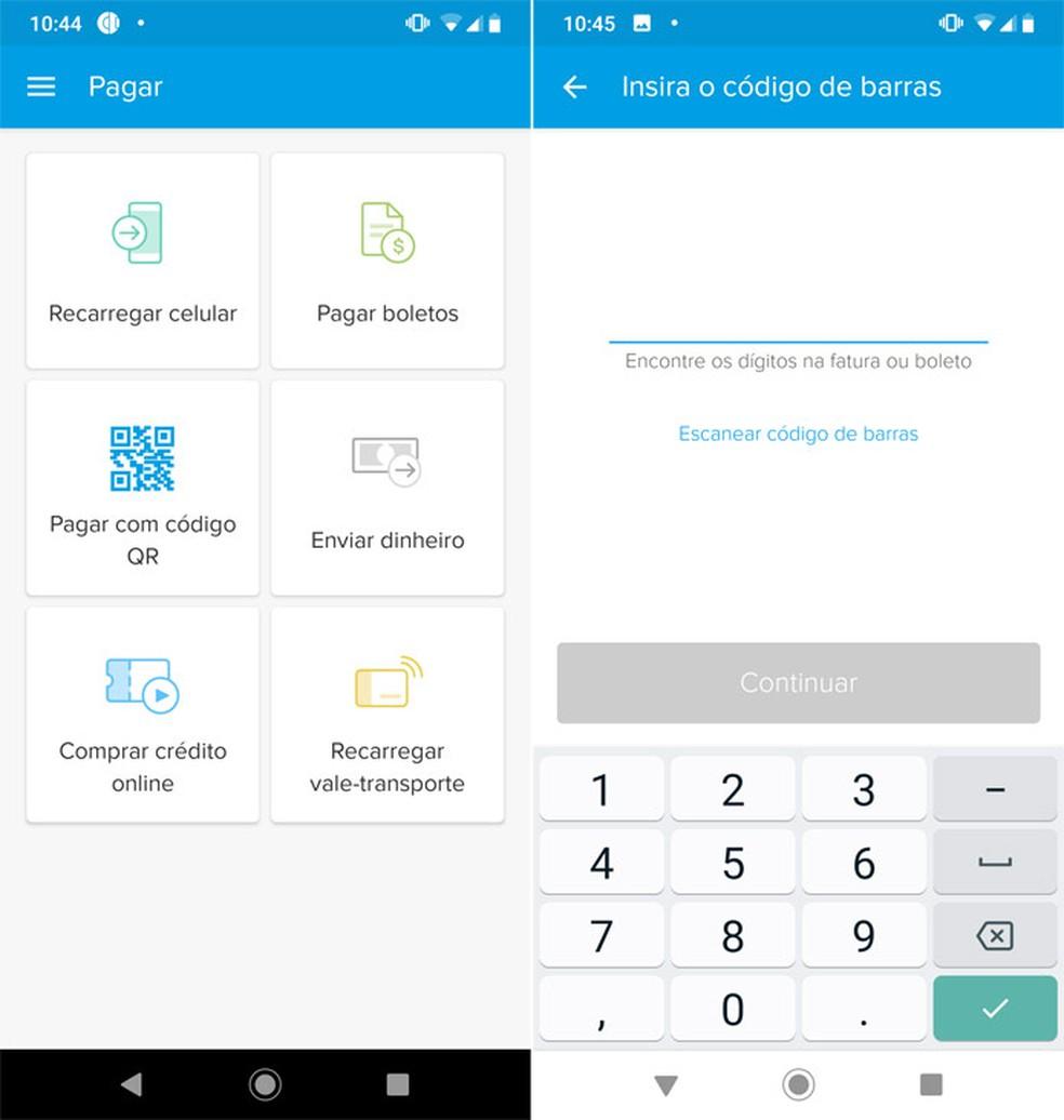 It is possible to pay any boleto with bar codes Photo: Reproduo / Pedro Cardoso