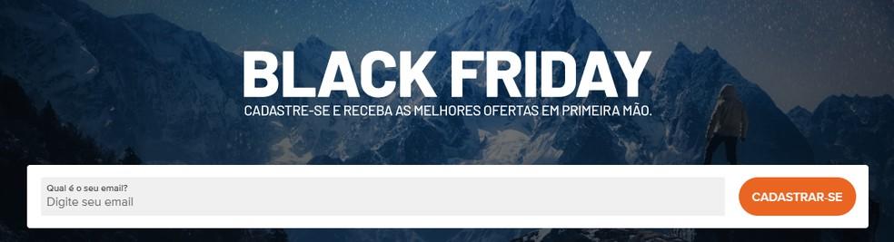 Almundo sends Black Friday offers by email Photo: Reproduo / Rodrigo Fernandes
