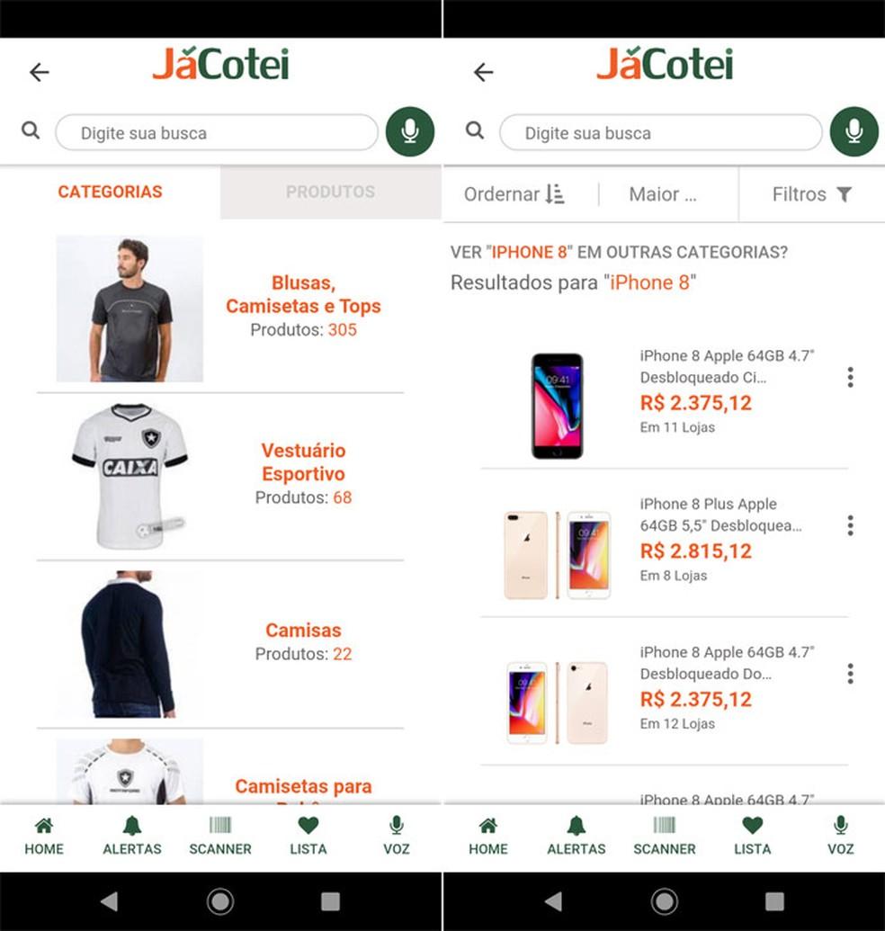 JCotei keeps app simple and lightweight Photo: Reproduo / Pedro Cardoso