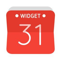 Widget Calendar app icon: Easy & Simple