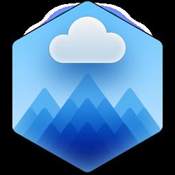 CloudMounter app icon: cloud encryption