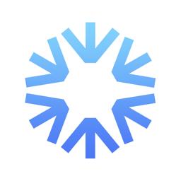 SNOCRU Skiing & Snow Tracking app icon