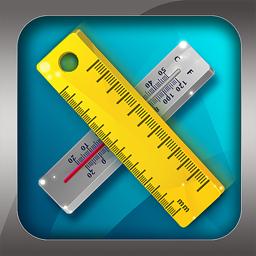Unit Converter Pro HD app icon.