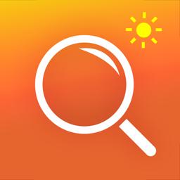 Magnifying Glass & Flash Light app icon