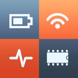 System Status Pro app icon: hw monitor