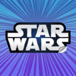 Star Wars Stickers app icon: 40th Anniv