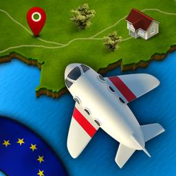 GeoViagem Europa Pro app icon