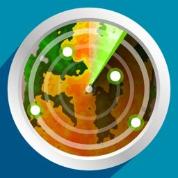 PocketRadar - my weather radar app icon