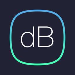 DB Decibel Meter app icon - sound level measurement tool