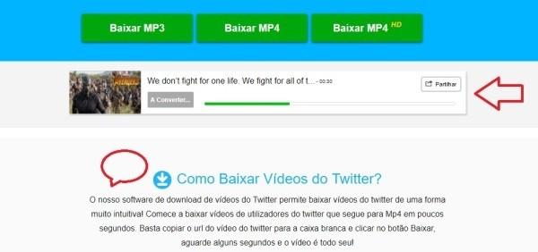 Download Twitter video