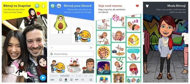 Create avatar with Bitmoji