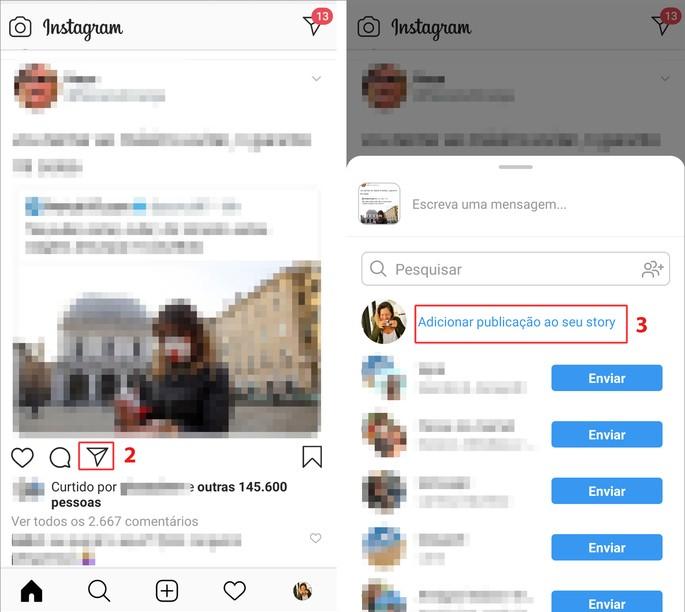 repost instagram stories