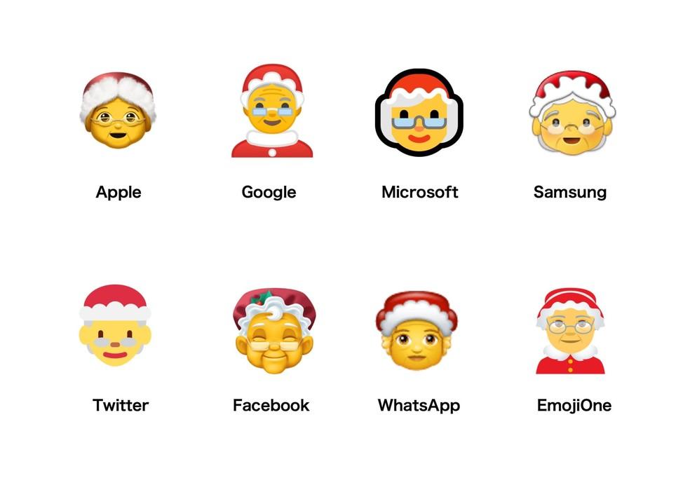 Major systems offer the Mame Noel emoji Photo: Reproduction / Emojipedia