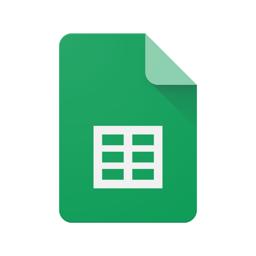 Google Sheets app icon