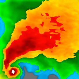 Weather Radar app icon: Forecast