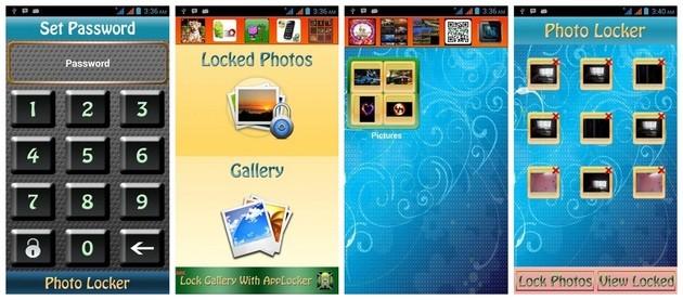 Hide photos with Photo Locker