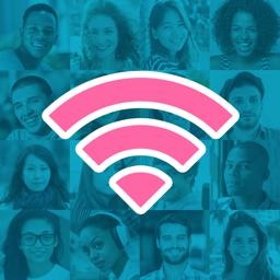 Instabridge app icon - Wi-Fi password