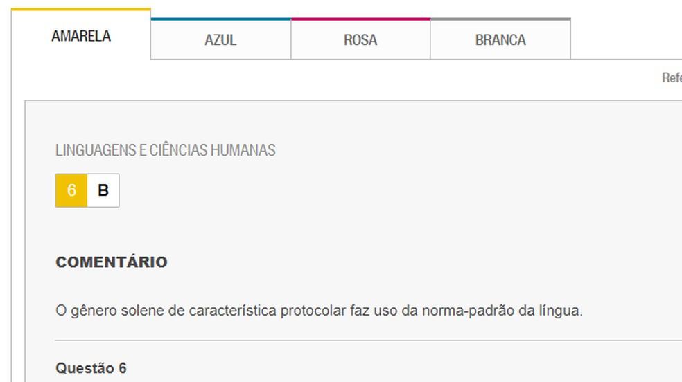 Enem feedback 2018 at O ??Globo Photo: Reproduo / Paulo Alves