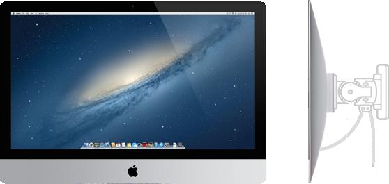 iMac with VESA