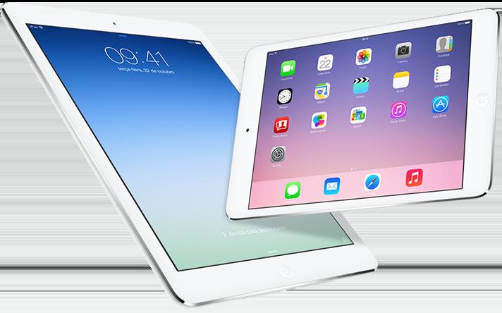 iPad Air and iPad mini with Retina display