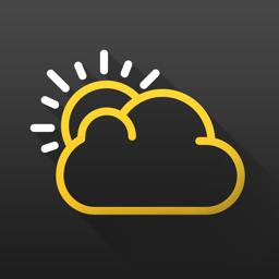 RANE ° - Minimalist Weather app icon