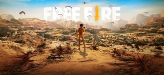 Free Fire Kalahari map image. Source: Garena